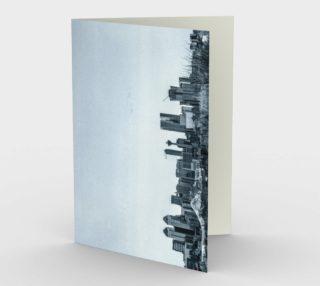 Calgary Skyline Card preview