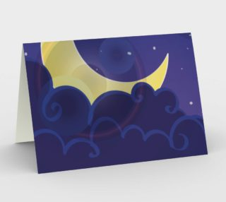 Good Night Sweet Dreams Stationary Card preview