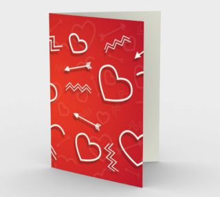 Saint Val Greeting Card preview