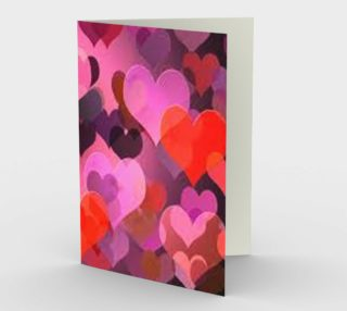 Layered Love Greeting Card preview