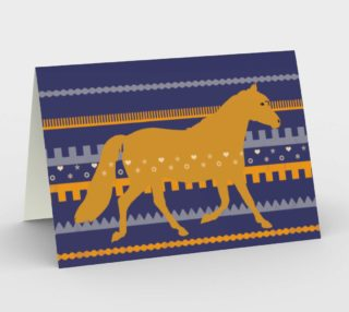 Welsh Pony stripes preview