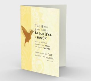0072.The Best and Most Beautiful Things Card by Deloresart preview