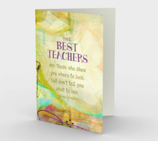 0471.The Best Teachers Card by Deloresart preview