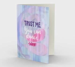 0563.Trust me. You Can Dance Card by Deloresart preview
