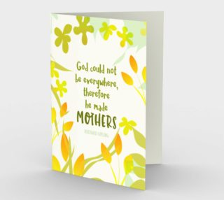 0945.God Made Mothers Card by Deloresart preview