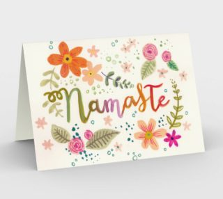 Floral Namaste preview