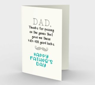 1074.Dad, Thanks for the Genes Card by Deloresart preview