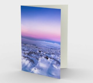 Gorgeous Snowscape with Elegant Sky preview
