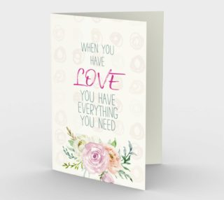 1156. When You Have Love v.3 Card by Deloresart preview