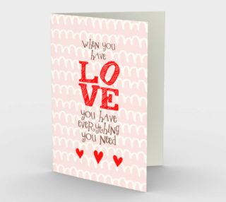 1157. When You Have Love v.2 Card by Deloresart preview