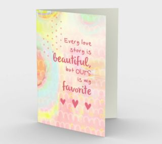 1158. Every Love Story Is Beautiful Card by Deloreart preview