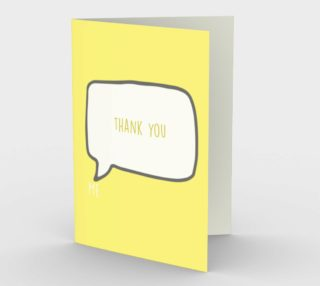 1186. Thank You Card by Deloresart preview