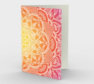 Aperçu de Trendy Gradient Mandala Design