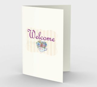 Welcome Stationary Card preview