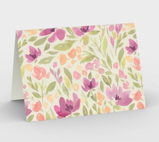 Sweet Lavender Watercolor Wild Flowers preview