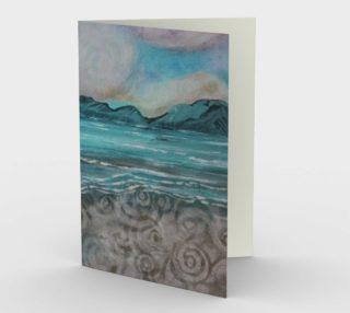 Aperçu de On the Beach Card