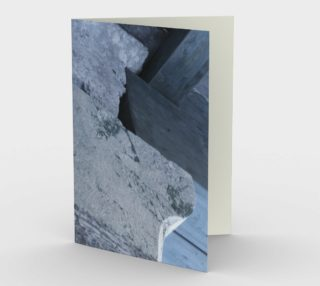 Structural element from a ancient Greek construction in Epidaurus in a bluish grey hue. preview
