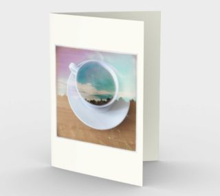 coffee cup card preview