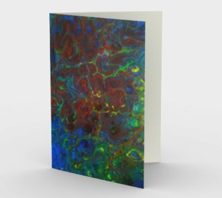 Cartes  abstraite rouge bleu jaune preview