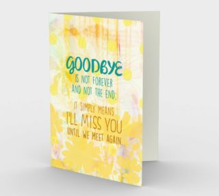 Aperçu de 0954 Goodbyes Are Not Forever Card by Deloresart