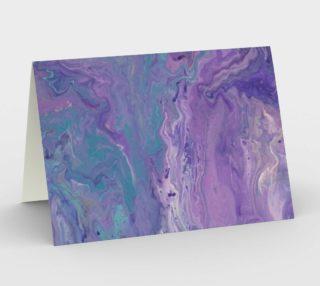 Lilac Ocean Card preview