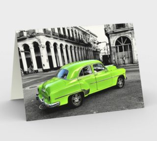 Aperçu de Cuban Car - Green - Garth Gilker