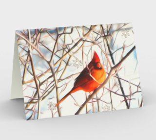 Cardinal card preview