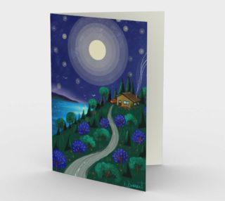 Carte Le chalet sous la lune preview