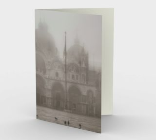 San Marcos Basilica at Piazza San Marcos, Venice, Italy Stationery preview