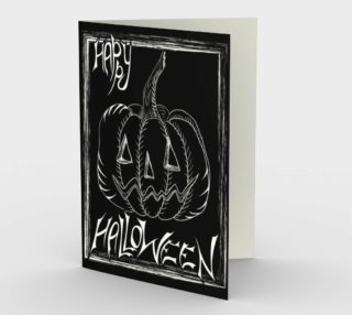 Happy Halloween card preview