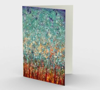 Elemental Meeting - Fire & Ice II - Blank Greeting Cards preview