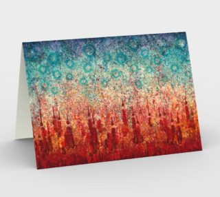 Elemental Meeting Fire & Ice I - Blank Greeting Cards preview