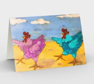 Aperçu de Hot Hens Card