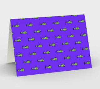 Cute Fish Cartoon Kids Style Drawing Pattern Stationery preview