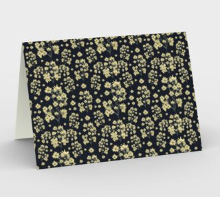 Sunflowers Floral Print Pattern Stationery preview