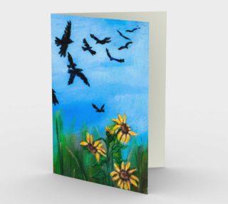 Aperçu de Crows Overhead Card