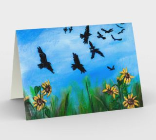 Aperçu de Crows and Crochet Card