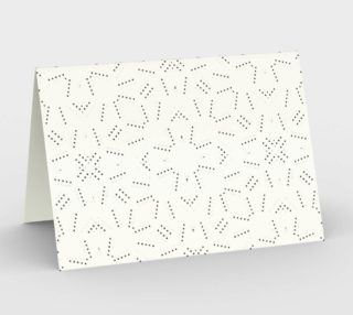 Geometric Dotted Pattern Stationery preview