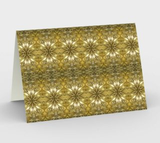 Golden Ornate Pattern Stationery preview