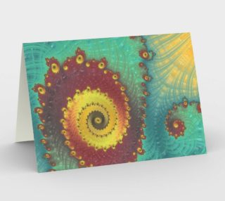 Tidal Pools Greeting Card preview