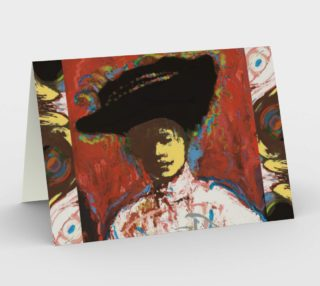 Simone Says Portrait Notecards (blank set of 3 w/envelopes) preview