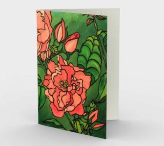 Aperçu de Stylized Rose Card