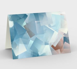 Muted Blues In Cubes preview