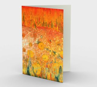 Elemental Meeting - Fire & Water Greeting Cards preview