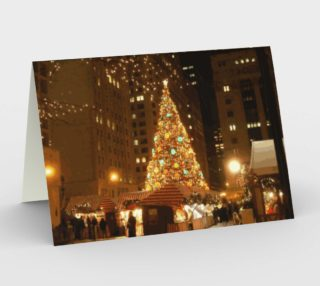 Christkindlmarket - December 21, 2005 in Chicago Stationery Card preview