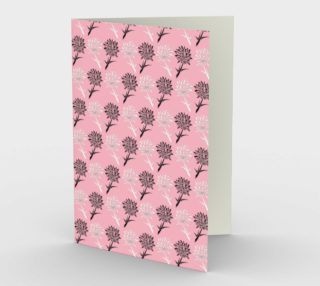 Pink Dandelion Pattern preview
