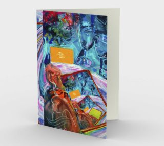 Infinity Invitation-Invitation (blank set of 3 w/envelopes) preview