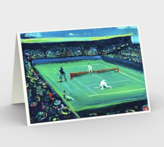 Grand Slam Fashion Match Notecard (3 blank cards with 3 matching envelopes) preview