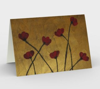 Poppies on Copper Card preview