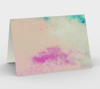 Washed in Pink and Blue Card preview